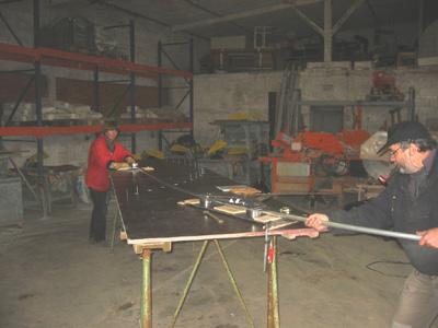 wir bauen ein aluminium flu boot we are building an aluminum riverboat. Black Bedroom Furniture Sets. Home Design Ideas